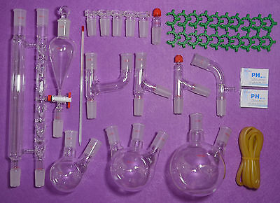 Lab Glassware Kit 2440advanced Chemistry Lab Glasswarelaboratory Glassware