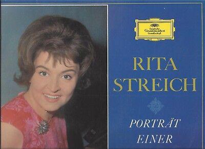 Rita Streich : Portät einer Sängerin - DGG Vinyl LP 135 020 Stereo
