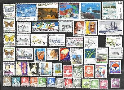 Greenland Stamps & Pictorials Used