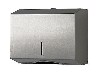 Papierspender Handtuchspender Falthandtuchspender Edelstahl  250-500 Blatt