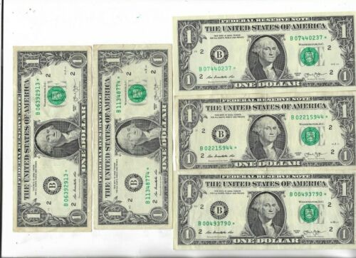 Rare US ☆ Dollar Bill Collectible Paper Money Small Size Note Collection Lot:I-8