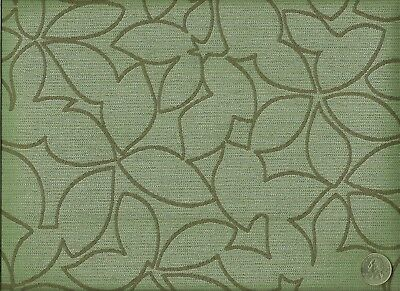 Contemporary Floral Fabric - Designtex Motif Moonstone Contemporary Modern Floral Leaves Upholstery Fabric