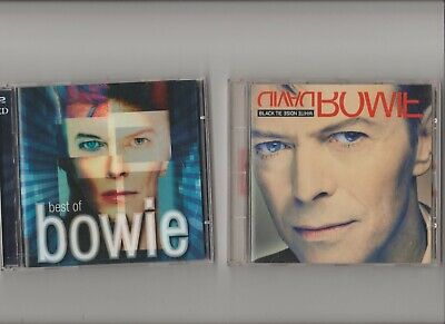 David Bowie : Best Of Bowie (2 disc) + White Noise Black Tie / TWO CD Albums