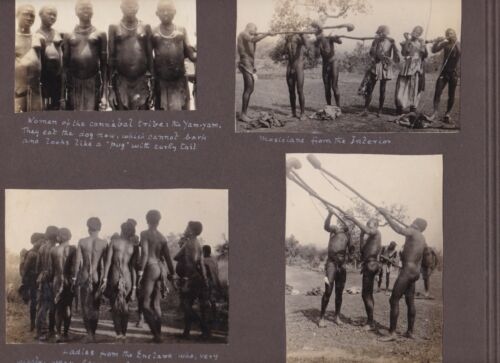 ETHNIC Peoples in EGYPT & South SUDAN 1920
