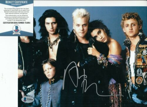 ALEX WINTER signed (THE LOST BOYS) Movie 8X10 photo BECKETT BAS T54964