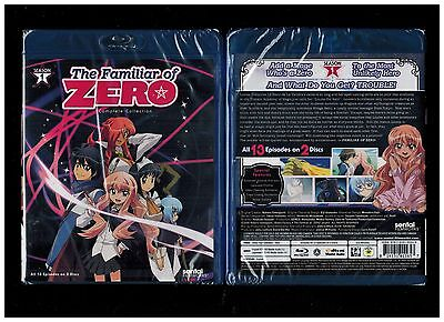 The Familiar Of Zero  Complete Season 1   Brand New Anime Blu Ray Disc  2012