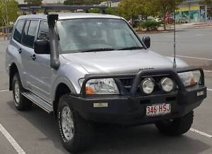 2004 Mitsubishi Pajero NP GLX LWB (4X4) Silver Metallic 3.8 litre