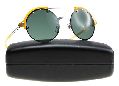 New Versace Sunglasses Women VE 4337 Yellow 525271 VE4337 53mm