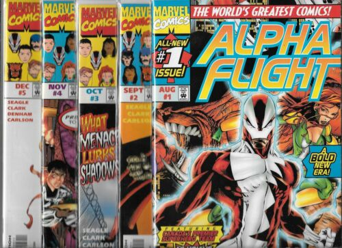 ALPHA FLIGHT NEAR SET / LOT OF 19 - #1 2 3 4 5 6 7 8 9-15 18-20 ANNUAL 1998 (NM-
