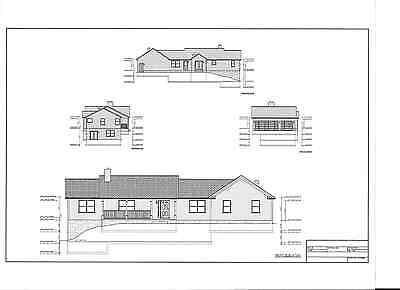 Full Set Of Single Story 3 Bedroom House Plans 1 567 Sq Ft