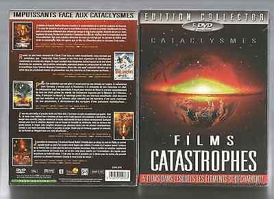 COLLECTOR 5 DVD - FILMS CATASTROPHES  - NEUF CELLO