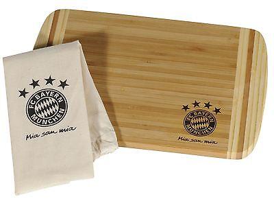 FC BAYERN MÜNCHEN Brotzeitbrett Frühstücksbrettchen Brettchen 20471 FCB Neu Top