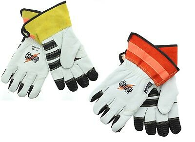 Power Gripz TPG-WG10T Insulated Heavy Duty Cowhide Leather Work Gloves (Insulated Leather Work Gloves)