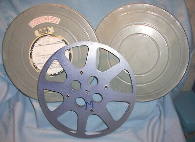 16MM 800 10.5 Metal Motion Picture Camera Film Movie Projector Take Up ReeL+ Can for sale  Shipping to India