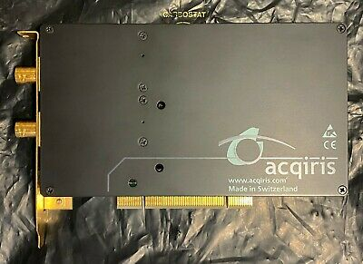 Acqiris Dp110 Digitizer Pci Digital Oscilloscope 250mhz 1gss Tested