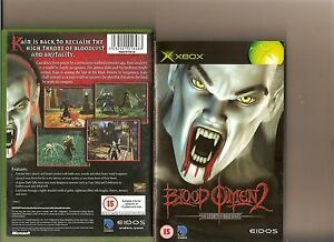 LEGACY-KAIN-BLOOD-OMEN-2-XBOX-X-BOX-360-RARE