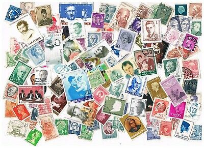 Lot of 100 worldwide stamps