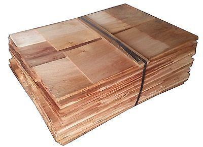 Cedar Shingles - Black Label, No.3 Grade Untreated Western Red Cedar Shingles