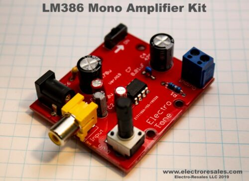 LM386 Mono Amplifier Board kit