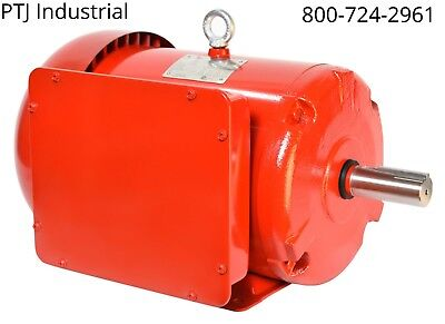 5 Hp 184t Electric Motor 1 Phase 3600 Rpm Enclosed Farm Duty F184t5s2c-mo