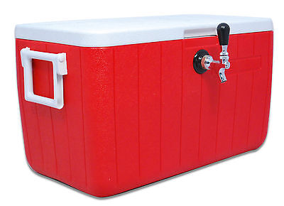 Jockey Box For Draft Beer One Faucet 1x70 High Efficiency Coil