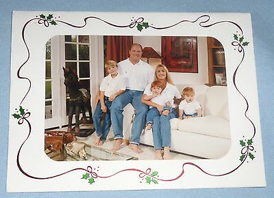 Mark Grant 1994 Family Christmas Holiday New Years Card Padres Baseball Giants - Baseball Christmas