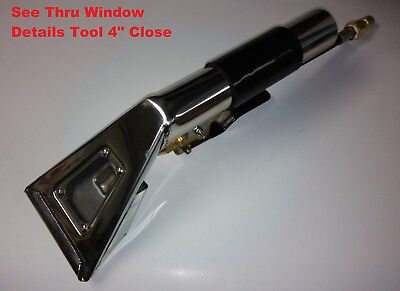"Detail Upholstery Tool Thru Window Close Wand 4""wide detailing carpet clean USA"