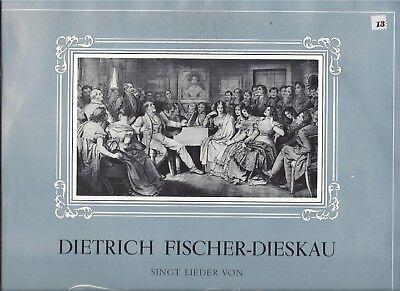 Dietrich Fischer-Dieskau singt Lieder von Franz Schubert - Vinyl LP Electrola