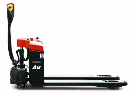 "HC Full Electric Pallet Jack 3,000 lbs  Capacity 48""L x 27""W"