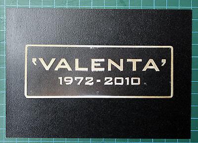 Grand Central HST Valenta Lament ticket 2010 FIRST, trip 4 York to Sunderland