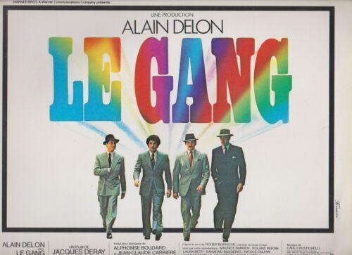ALAIN DELON  French Pressbook LE GANG