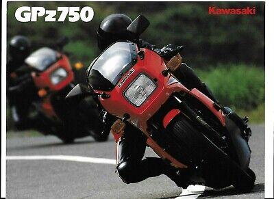 A SUPER 1985? KAWASAKI GPz750 BROCHURE (ZX750-A3) #1538