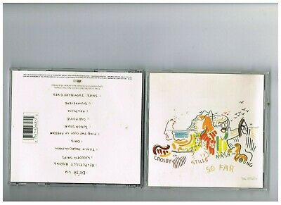 CROSBY STILLS NASH AND YOUNG CD .THE BEST OF . GREATEST HITS..SO