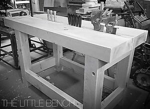 Roubo Split Top Cabinet Maker's Workbench