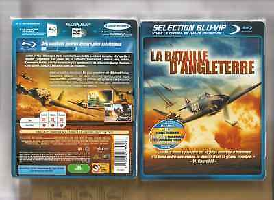 BLU RAY + DVD - LA BATAILLE D'ANGLETERRE - GUERRE - NEUF CELLO