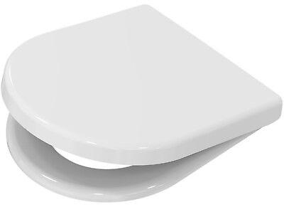 WC Sitz Sanibel zu Roca Nexo mit Edelstahlbefestigung Toilettensitz Deckel