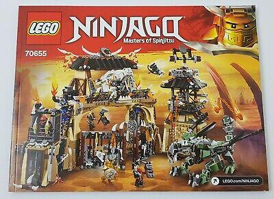 LEGO NINJAGO Notice 70657 Instruction NEUF NEW Ninjago City Docks