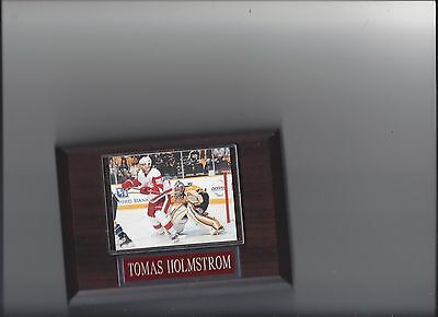 Tomas Holmstrom Detroit Red Wings - TOMAS HOLMSTROM PLAQUE DETROIT RED WINGS HOCKEY NHL