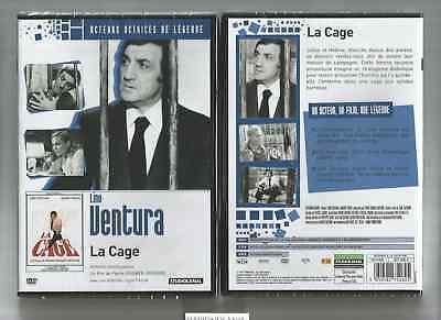 """LINO VENTURA """" LA CAGE """" DVD NEUF CELLO"""