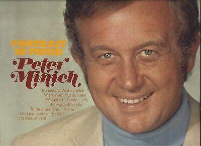 PETER MINICH : PORTRAIT IN MUSIK  - Telefunken Doppel LP Vinyl von 1974