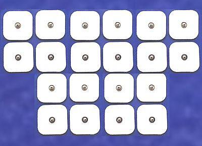 4 Tens Klebe Elektroden Pads Druckknopf Sanitas SEM 40 42 43 44 Beurer Gerät CE
