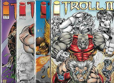 TROLL LOT OF 4 - TROLL #1 TROLL ONCE A HERO, HALLOWEEN SECIAL & II GRAPHIC NOVEL