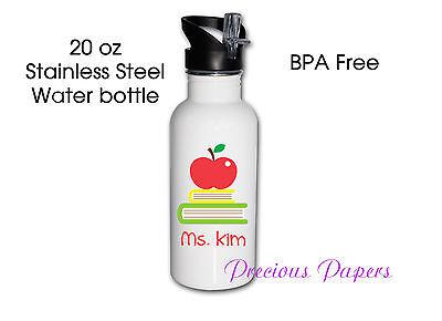 teacher stainless steel water bottles teacher gifts teacher