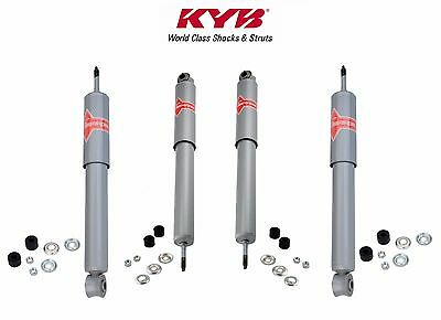Front & Rear Shocks Absorbers KIT KYB Gas a Just For Nissan 520 521 620 720