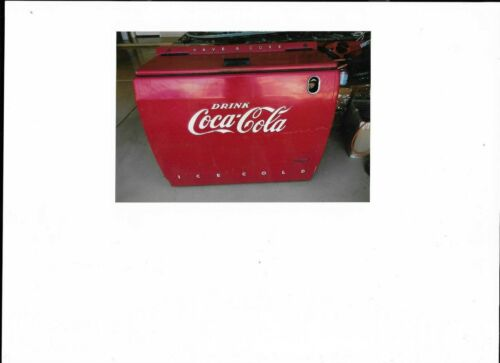 "COCA COLA COOLER 1950""S ELECTRIC MODEL WD12"