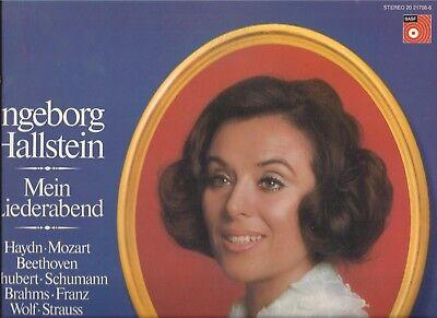 Ingeborg Hallstein - Erik Werba am Klavier : Mein Liederabend - BASF Vinyl LP