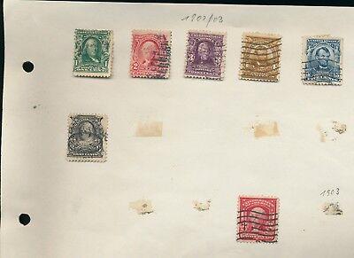 Briefmarken USA LOT mir Briefen
