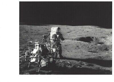 ALAN SHEPARD NASA ASTRONAUT APOLLO 14 (2) ORIGINAL B&W 8 X 10 PHOTO's