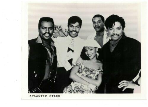 "Atlantic Starr UK Original   Promo Photo 10"" x  8"""