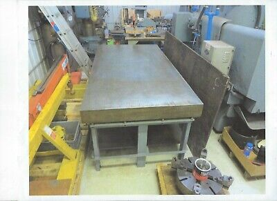 Challenge Machinery Layout Plate And Stand 48x96x6 - Lot Listing - Item 1154